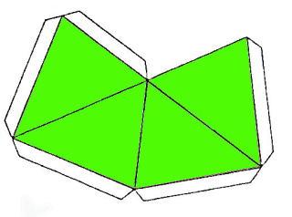 四 角錐 展開 図